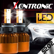 XENTRONIC LED HID 6K Foglight kit 5202 12276 H16 Jeep Patriot 2009-2017