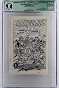 Youngblood Ashcan Edition #1 -NEAR MINT- CGC 9.4 -Image 1991- Signed by Liefeld!