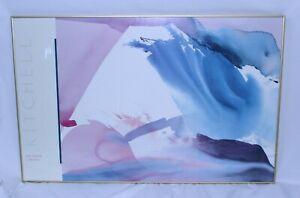 VTG Peter Kitchell Shasta A Art Framed Signed 1980's Limited Edition Litho Rare