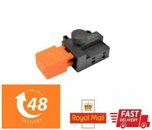 Genuine On & Off Push Button Switch For Flymo Compact 300 330 350 Lawnmowers