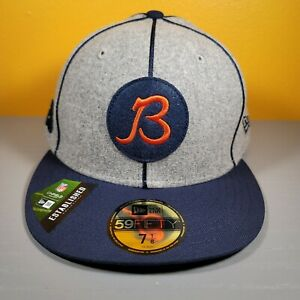 New Era 2019 Chicago Bears Official NFL Sideline Home 59FIFTY Fitted Hat 7-1/8