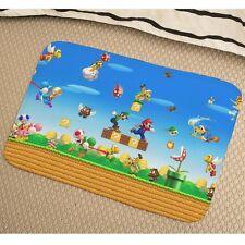 Super Mario Bros Soft Absorbent Foam Non-slip Bathmat Bedroom Rug y41 w0046
