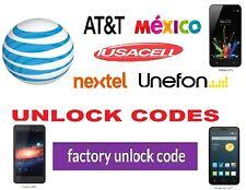 AT&T Mexico (Nextel Unefon ) Unlock Codes Huawei Mate 10 GW Metal Y5 Y5 Pro P10