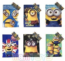 New Minions Coloring Book with Crayon Party Favors Activity Book for Kids (6ct)