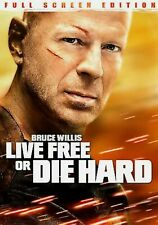 Live Free Or Die Hard Dvd only