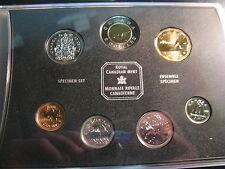 CANADA 1999 SPECIMEN SET