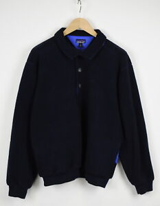 PATAGONIA 25620 Men's LARGE Half Buttons Fleece Pullover Jumper 32654-GS