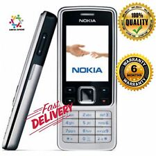 Neu Kondition Nokia 6300 Schwarz/Silber Entsperrtes Mobiltelefon + 6 Monate