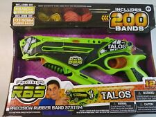 Talos Rubber Band Shooter (Precision RBS) - Active Indoor Toy by Super Impulse