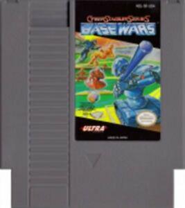 Cyber Stadium Series - Base Wars - NES Nintendo Game
