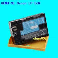 Original Canon LP-E6N Battery for EOS 60D 70D 80D 5DSR 5D2 5D3 Mark IV