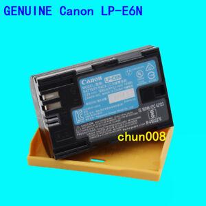 Genuine Canon LP-E6N Battery for EOS 60D 70D 80D 90D 6D 7D 7DII 5DSR 5DIII 5DIV
