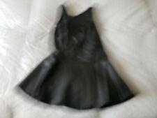 GUESS Faux Leather Women's Top Sz. M  Black