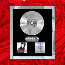 JUSTIN BIEBER UNDER THE MISTLETOE  MULTI (GOLD) CD PLATINUM DISC LP VINYL
