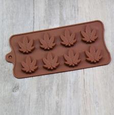 Maple Leaf Silicone Candy Mold Chocolate Lollipop Fondant Cake Decoration Tool