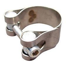 Exhaust Clamp 40-43 Mm Stainless Steel Leo Vince For Vespa Px 80 E Lusso 1983