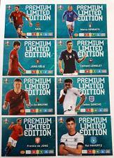 PREMIUM LIMITED EDITION FULL SET ( 8 CARDS ) ADRENALYN XL PANINI EURO 2020 !!!
