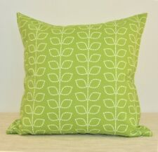 "Green Leaves WATERPROOF OUTDOOR Throw Pillow cover 18"" Green Cushion cover"