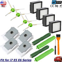 Replacement Parts Kit for iRobot Roomba i7 i7+ Plus E5 E6 Vacuum Cleaner 4640235