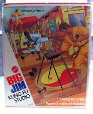 BIG JIM Action Figure KARATE STUDIO MATTEL Brand New NRFB MIB MIP MOC LAST ONE!
