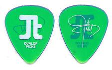 Justin Timberlake Signature Clear Green Guitar Pick - 2003 Justified Tour