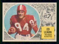 ED LEARN 1960 TOPPS CFL 1960 NO 44 NRMINT+ 20517