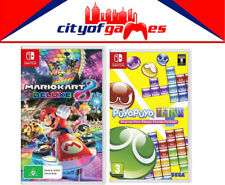Mario Kart 8 Deluxe & Puyo Puyo Tetris Bundle Nintendo Switch New In Stock