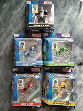 Voltron Legendary Metal Defender Lot 5 Lions Playmates Dreamworks Black Green...