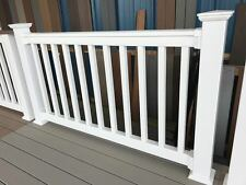 Full Skid of 12 kits Overstock 6' RDI Finyl Line White Vinyl Deck Porch Railing