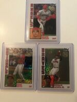 2019 Topps Soto, Ohtani, ACUNA JR 35th Anniversary Refactor LOT