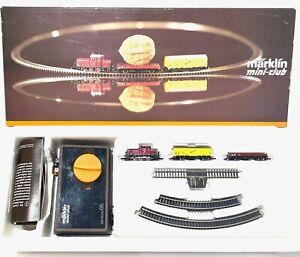 Märklin MiniClub 8170S - Starterset mit V60 - Spur Z - OVP - sehr gut erhalten