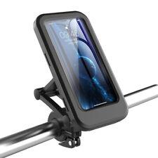 """SUPPORTO CELLULARE SMARTPHONE PER BICI/MOTO IMPERMEABILE REGOLABILE FINO A 6.7"""""""