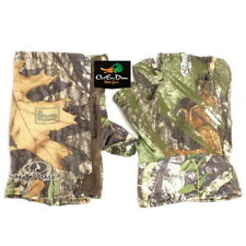 NEW BANDED FINGERLESS TURKEY GLOVES OBSESSION CAMO XL / 2XL
