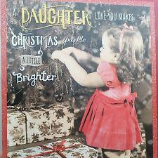 Daughter Christmas Card