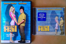 SHALLOW HAL - NEIL YOUNG, S. CROW  - SEALED CD +  SHALLOW HAL - JACK BLACK - DVD