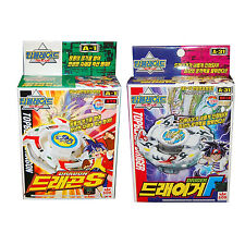 Rare Beyblade A-1 Dragon S +A-31 Driger F Spin Gear System Topblade W Launcher
