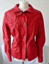 Red Casual Jacket from Reset Size 12