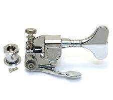 Hipshot M4 Chrome Bass Drop D Machine Head De-tuner X-tender Schaller® M4 Mini