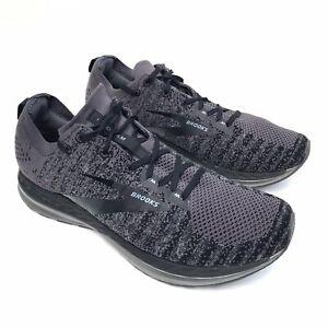 Brooks Bedlam 2 1103081D040 Running Shoes, Men's Size 13 D Medium, Black/Grey