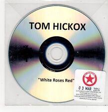 (FF377) Tom Hickox, White Roses Red - 2014 DJ CD