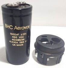 Lot of 2 BHC ALS20A 1090 MF Capacitor 1000uF 450VDC 10 50/%