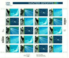Scott 3552-3555 34¢ Olympic Games: Winter MNH Free Shipping in the USA!!!