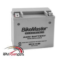 AGM Platinum II Sealed Battery 2012 Kawasaki KVF750 Brute Force 4x4i EPS