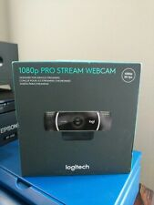 FREE SHIP! Logitech 1080p Pro Stream Webcam great for at home! Ships next day