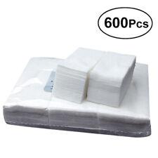 600Pcs Nail Art Gel Polish Remover Lint Free Nail Wipe Cotton Pads Nail Manicure