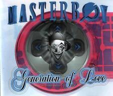 Masterboy Generation Of Love (Eurodance) 1995 Club Zone Maxi CD 4 Tracks