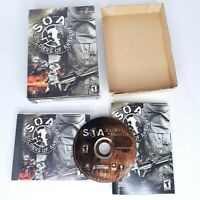 Soldiers of Anarchy (SOA) PC GAME CD-ROM in Short Box w/ Manual & Key