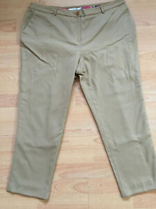 BODEN   camel  wool   ankle skimmer   trousers   size 18R. NEW. WQ057