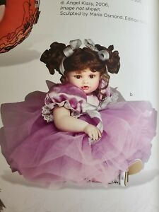 """RARE ~NRFB ~ Marie Osmond BABY ABBY """"LOTS O LAVENDER Toddler Porcelain Doll ~NEW"""