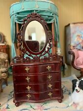Bespaq Vintage Dollhouse Miniature Rococo Chest---Old Store Stock